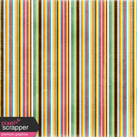 Stripes 34 Paper - Brown & Pink