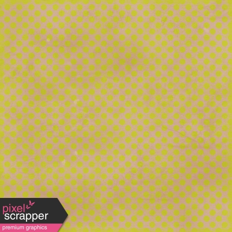 Polka Dots 23 Paper - Green & Tan