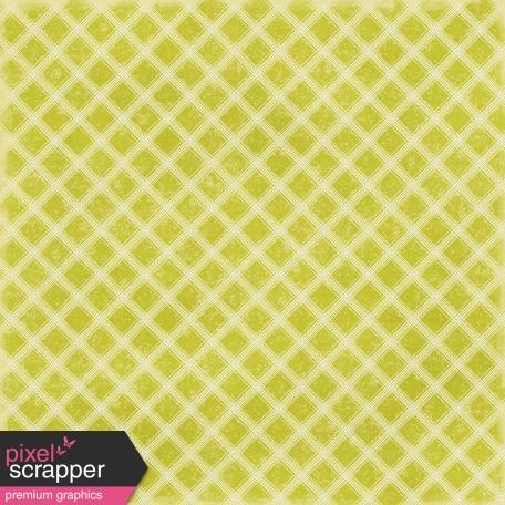 Plaid 37 Paper - Green & White