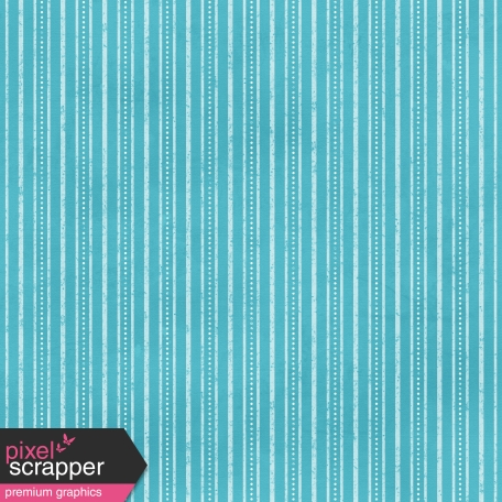 Stripes 04 Paper - Blue & White
