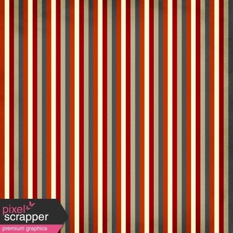 Stripes 35 Paper - Red & Brown