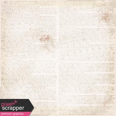 Ephemera Paper - Words - White