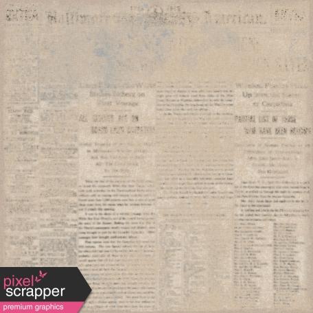 Ephemera Paper 01 - Brown