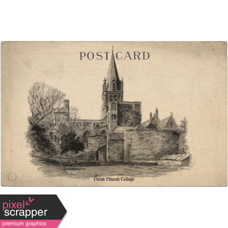 Oxford Postcard - Christ Church