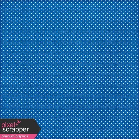 Polka Dots 17 Paper - Blue & White