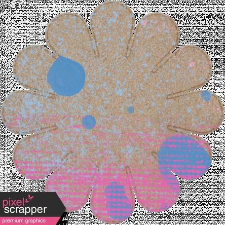 Tunisia Chipboard Flower