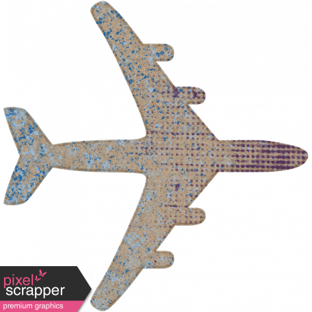 Tunisia Chipboard Airplane