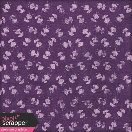 Paper 025 - Floral - Purple