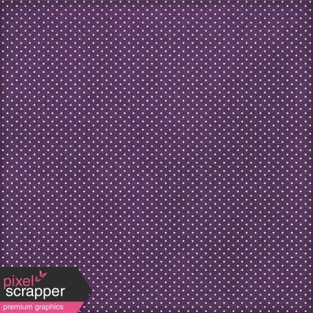 Paper 108 - Polka Dots - Purple & White