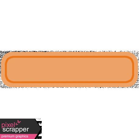 Belgium Tag - Orange