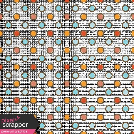 Polka Dots 26 Transparency - Orange & Red