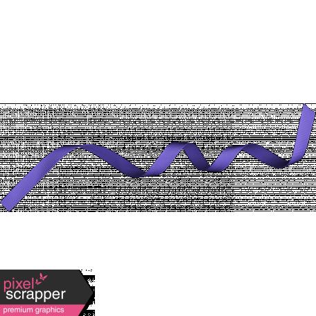 Birthday Ribbon - Purple