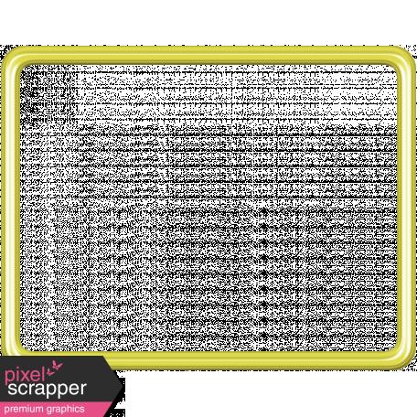 Birthday Frame - Yellow