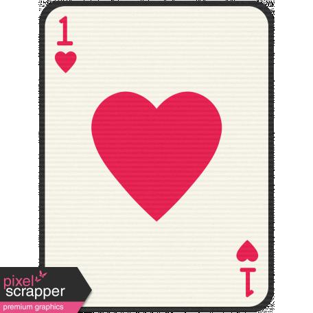 Birthday Journal Card - Playing Card 1