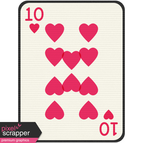Birthday Journal Card - Playing Card 10