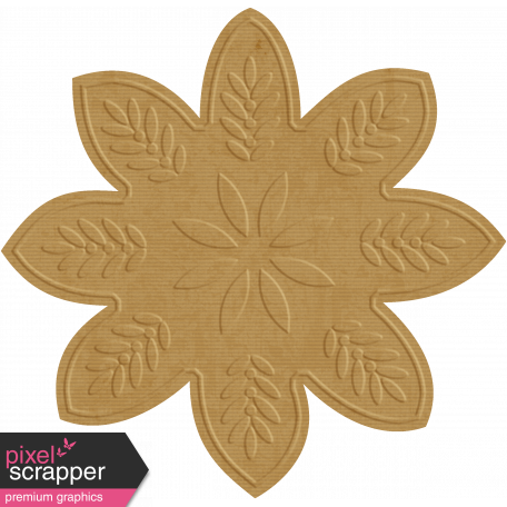 Paper Flower 28 - Tan
