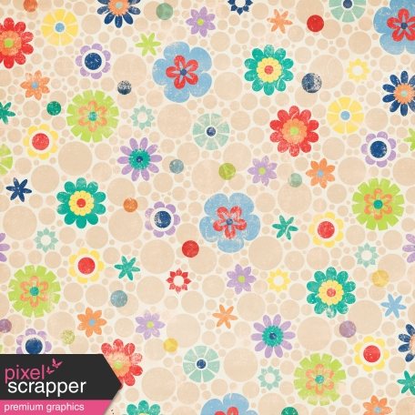 Challenged Paper - Floral
