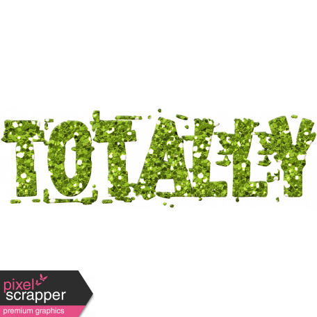 Challenged Word Art - Totally