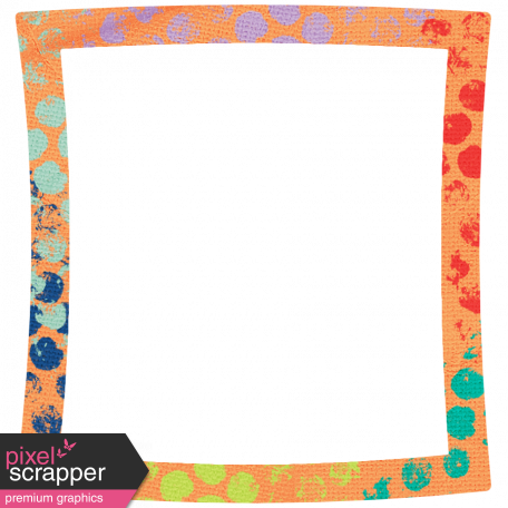Challenged Warped Frame - Polka Dot