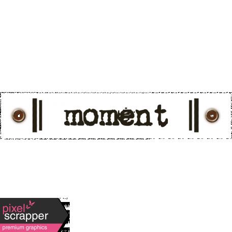 Travel Label - Moment