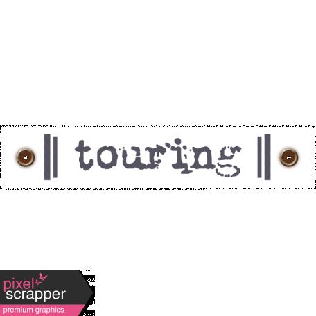 Travel Label - Touring