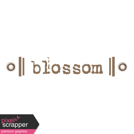 Taiwan Love Label - Blossom