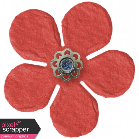 Taiwan Paper Flower - Red