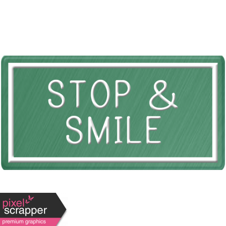 Taiwan Sign - Stop & Smile