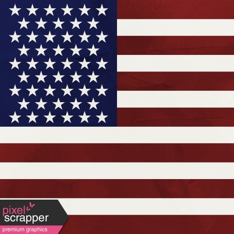 July Fourth Paper - Flag