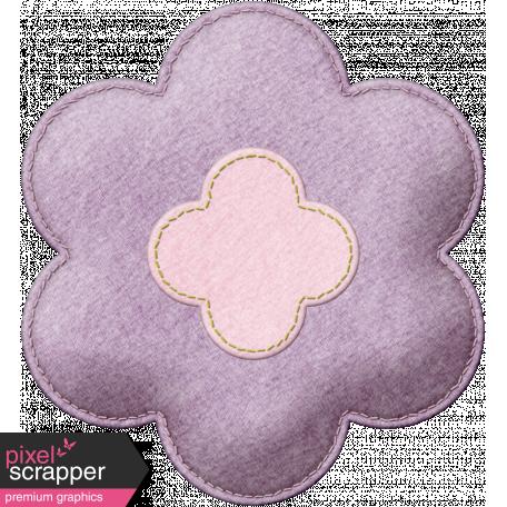 DSF June 2013 Blog Train - Felt Flower