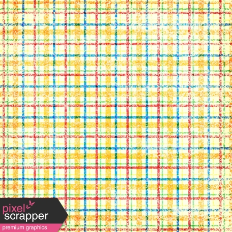 Plaid Paper - Yellow