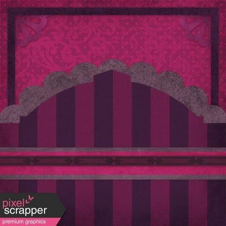 Vietnam Paper Cluster Background - Purple Arch