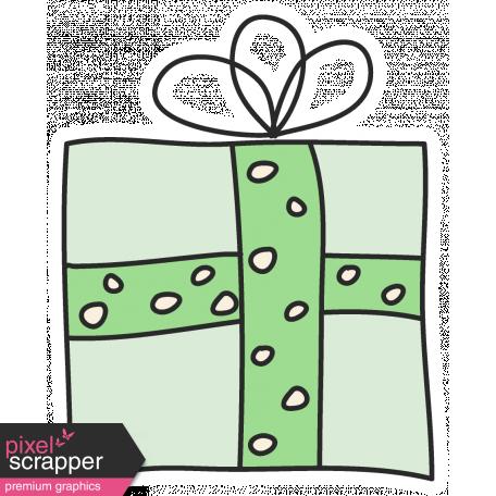 Christmas Gifts - Green Present