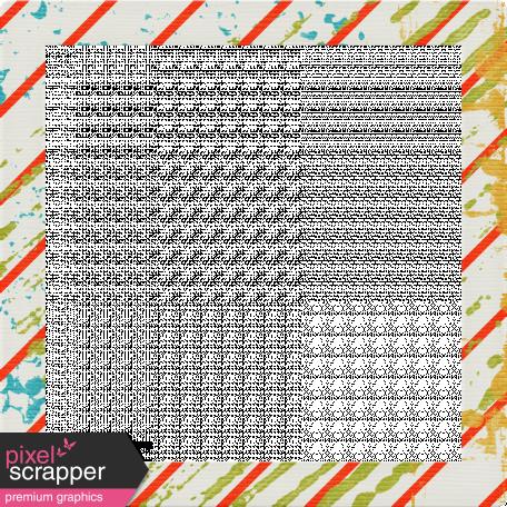 Dino Frame 01 - Diagonal Stripes