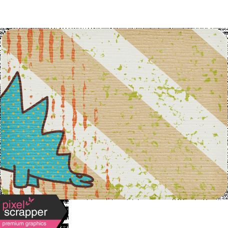 Dino Journal Card - Stegosaurus