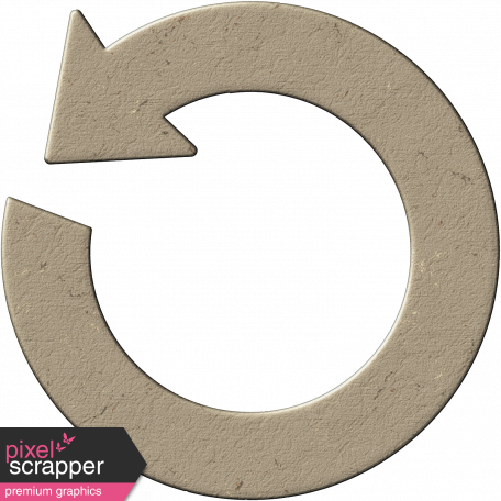 Cambodia Chipboard - Circular Arrow