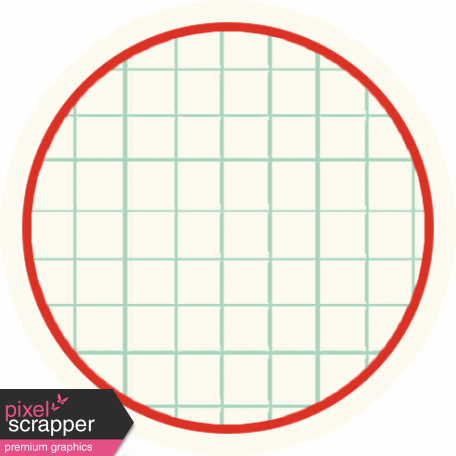 Cambodia Grid Tag - Circle Small