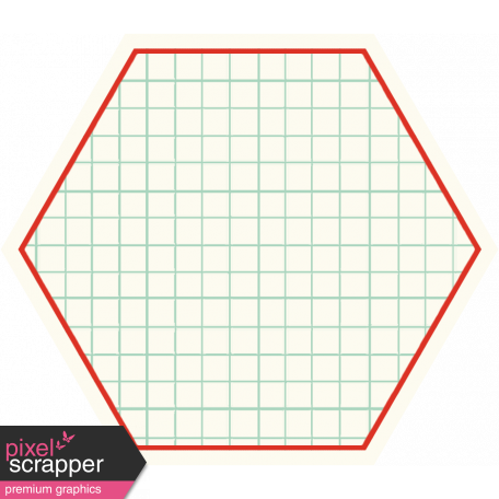 Cambodia Grid Tag - Hexagon