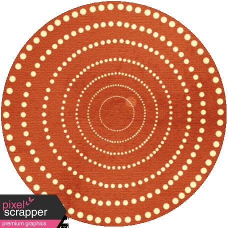 Discover Circle - Redish Orange