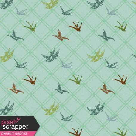 Malaysia Birds Paper - Teal