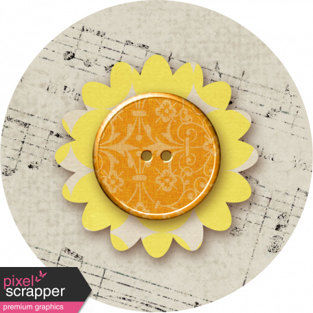 Malaysia Flower - Yellow & Music