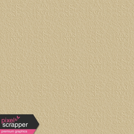Damask 16 - Embossed Tan Paper