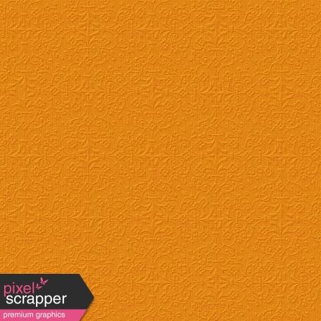 Damask 16 - Embossed Orange Paper