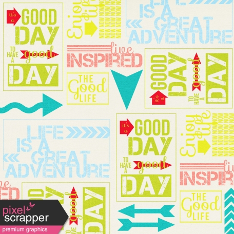 Inspire Words Paper