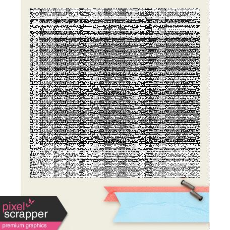 Inspire Frame - Blue & Pink