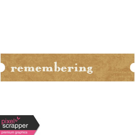 Family Tag - Remembering