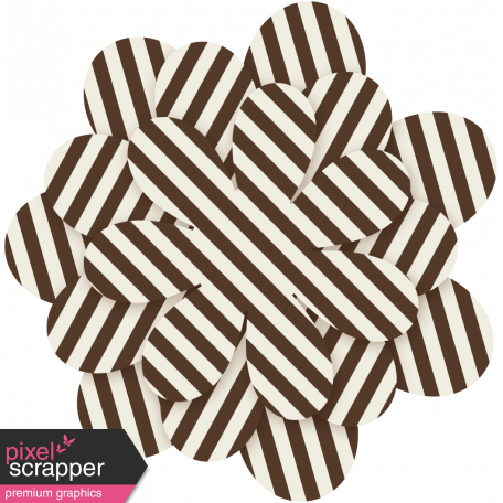 Family Game Night Flower 19 - Brown