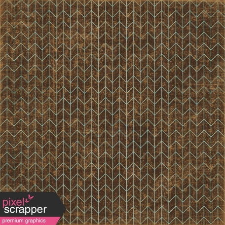 Family Game Night Brown Chevron Paper