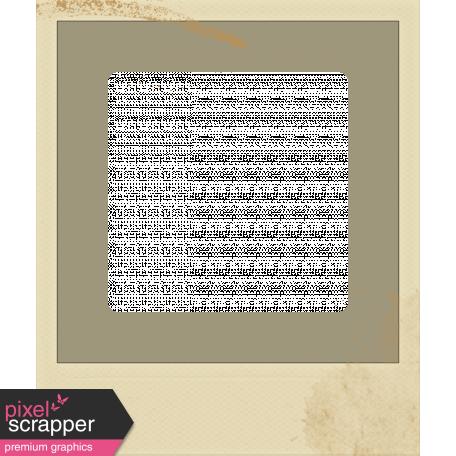Family Game Night Frame - Polaroid Grunge A