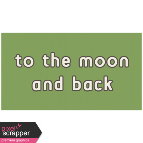 Outer Space Words - To The Moon And Back